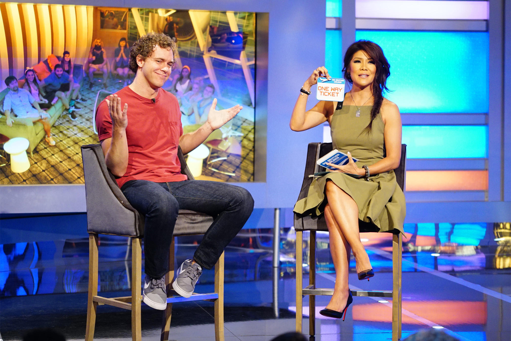 Frank and Julie Chen, Big Brother 18