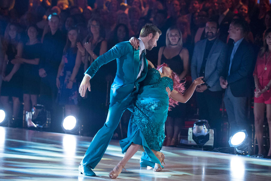 James Hinchcliffe, Sharna Burgess; Dancing With the Stars