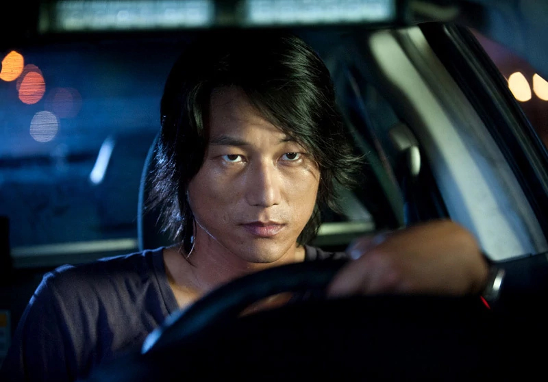 Han in The Fast and Furious Tokyo Drift Sung Kang