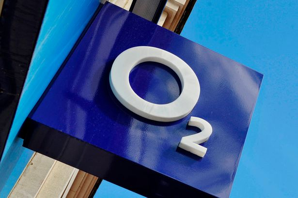 The O2 company logo