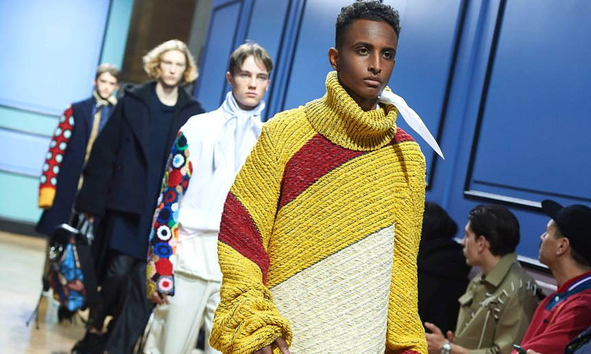 Models-present-creations-by-JW-Anderson-during-his-catwalk-show-on-the-third-day-of-the-autumn