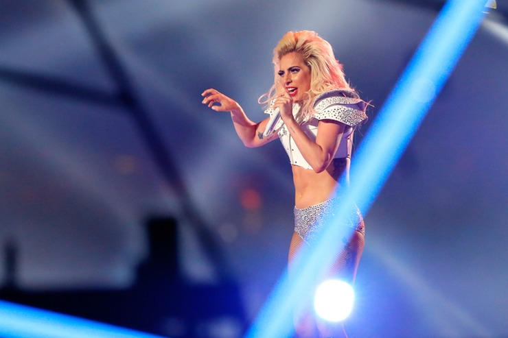 Lady Gaga's Super Bowl 2017 Halftime Outfits