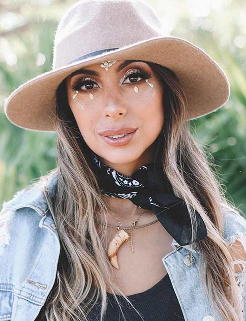 15. Bandana, Hat, And Other Boho Accessories