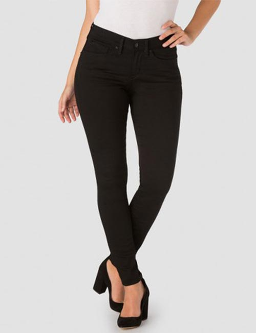 6. High Waisted Black Jeans