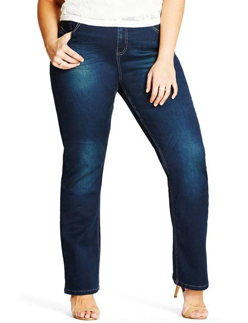 7. Bootcut Jeans For Curvy Women