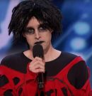 'America's Got Talent': Goth Comedian Brought to Tears When All the Judges Love His Set