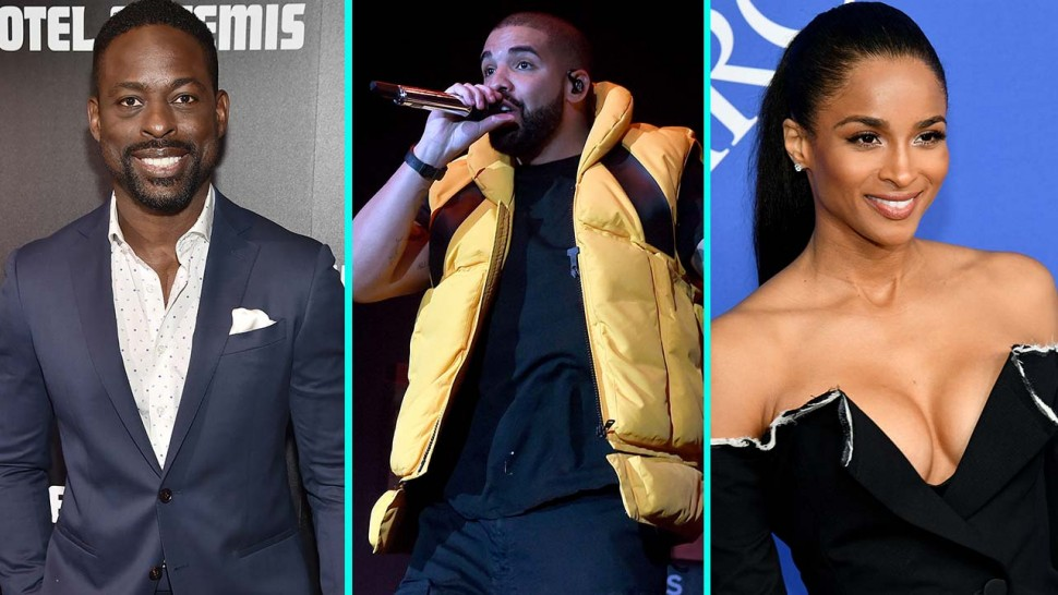 Sterling K. Brown, Drake, and Ciara